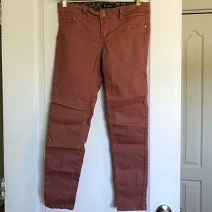 Suko Dusty Rose Skinny Jeans